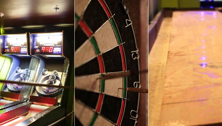 Games Skeeball Darts Shuffleboard